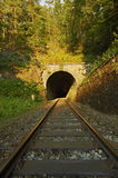 Railway tunnel Stock Image
