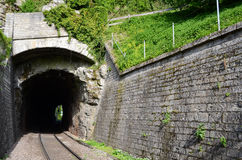 Railway tunnels Royalty Free Stock Image