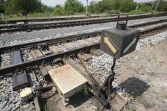 Railway turnouts Royalty Free Stock Photos