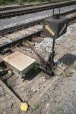 Railway turnouts Royalty Free Stock Photo