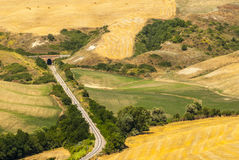 Railway in Tuscany Stock Photos