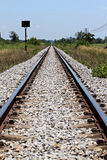 The railway used to transport. Stock Images
