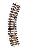 Railway. Vector drawing Stock Photos