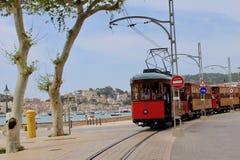 Tram de Soller stock photo