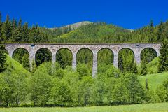 Railway viaduct Stock Images