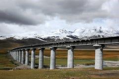 The railway viaduct Stock Photos