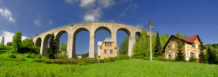 Railway viaduct Royalty Free Stock Image