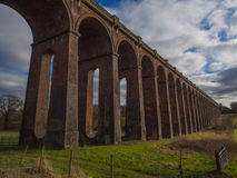 Railway viaduct Royalty Free Stock Photo