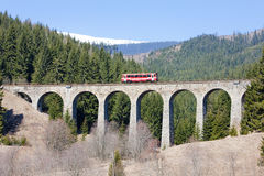 Railway viaduct, Slovakia Stock Images