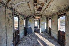 The railway wagon Stock Photo