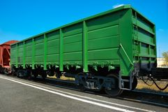Railway  wagon Royalty Free Stock Images