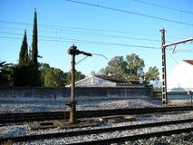 Railway Water Pump Stock Image