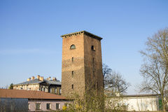 Railway water tower Stock Images