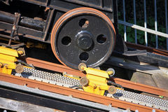 Railway wheel Royalty Free Stock Photos