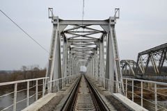 Railwaybridge Royaltyfri Foto