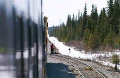 railwayman Στοκ Εικόνα
