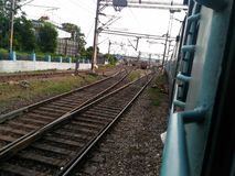railways Imagem de Stock Royalty Free