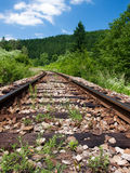 Railways landscape Royalty Free Stock Photo