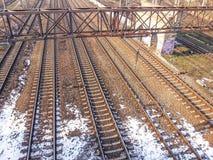 Railways from Romania Stock Photography