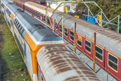 Railways and trains Stock Photography