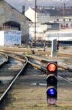 Railyard Royalty-vrije Stock Afbeeldingen