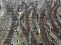 Railyard Stock Image
