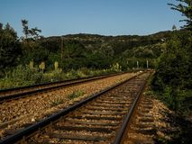 Railyard da Birnova Fotografie Stock