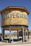 Railyard de Santa Fe Foto de archivo