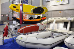 Raimar Stand Boat Show Roma Royalty Free Stock Photography