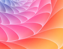 Raimbow fractal Stock Photo