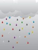 Rain_01 Fotografia de Stock