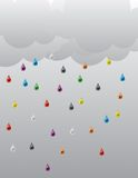 Rain_01 Fotografia Stock