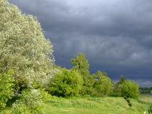 Before a rain Stock Images