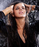 In rain Royalty Free Stock Photography