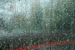 Rain abstract. Royalty Free Stock Photo