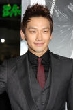 Rain arriving at the Premiere Of Warner Bros Royalty Free Stock Image