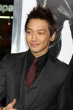 Rain arriving at the Premiere Of Warner Bros.  Stock Photography