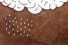 Rain background Royalty Free Stock Images