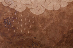 Rain background Royalty Free Stock Photos