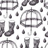 Rain background Stock Photos