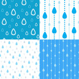 Rain backgrounds Stock Images