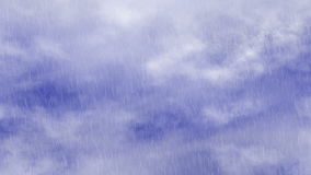 Rain of blue sky clouds backrounds stock video footage