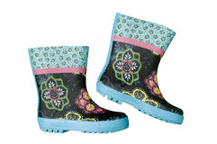 Rain boots Royalty Free Stock Image