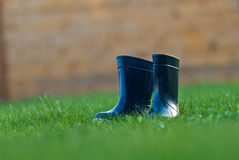 Rain boots Royalty Free Stock Images