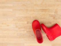 Rain Boots. A close up shot of rain boots Royalty Free Stock Photography