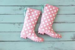 Rain boots Stock Photography