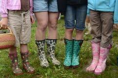 Rain boots Stock Photo