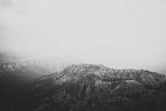 Rain at Bryce Canyon National Park Royalty Free Stock Photo