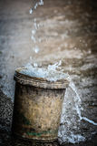 Rain bucket Stock Photos