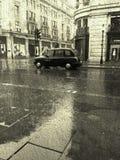 Rain Cab Stock Images